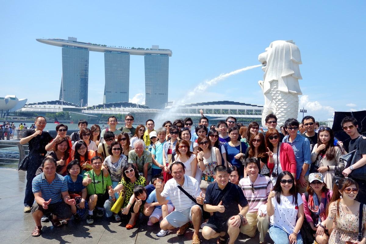 新加坡.馬來西亞.馬金沙酒店空中花園5日
