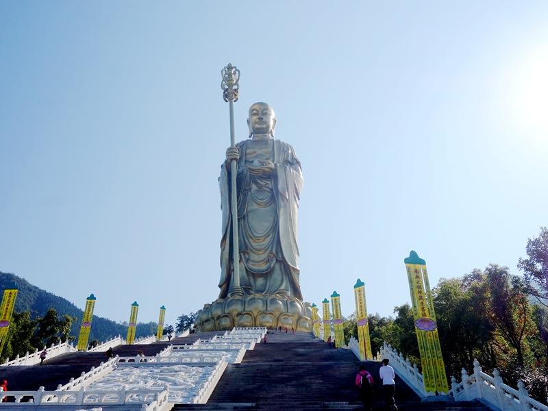 九華山地藏王菩薩道場+黃山+普陀山南海觀音道場10日