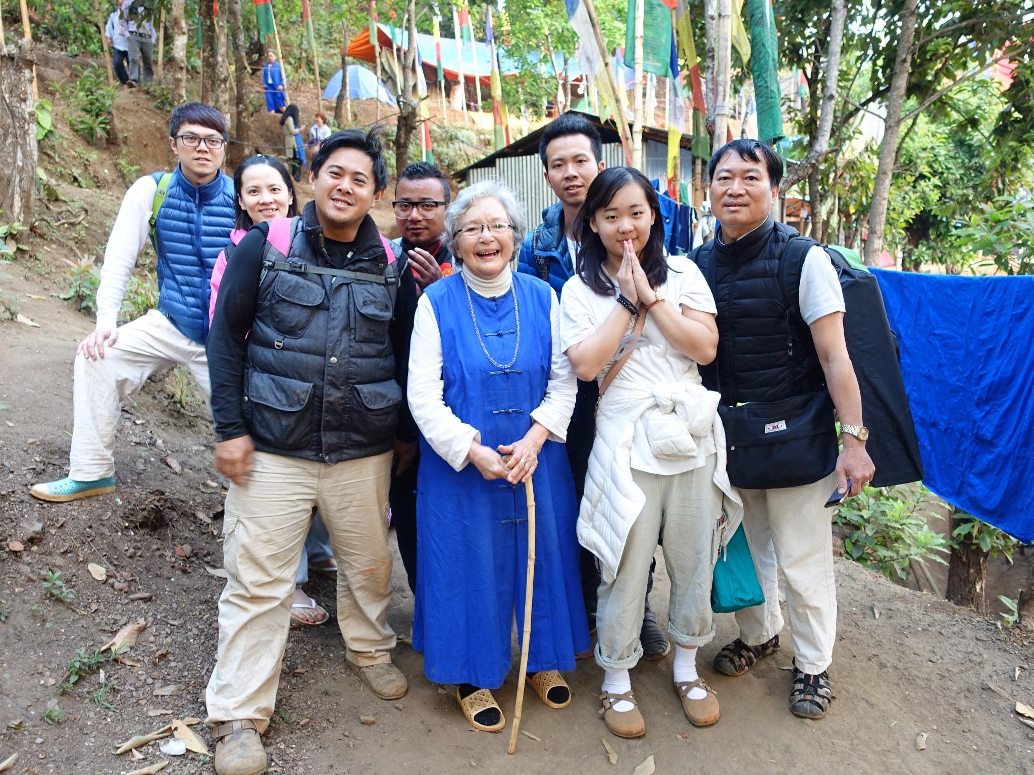 尼泊爾藍毗尼園+梅呾利孤如萬法和合眾大本營拜會14日