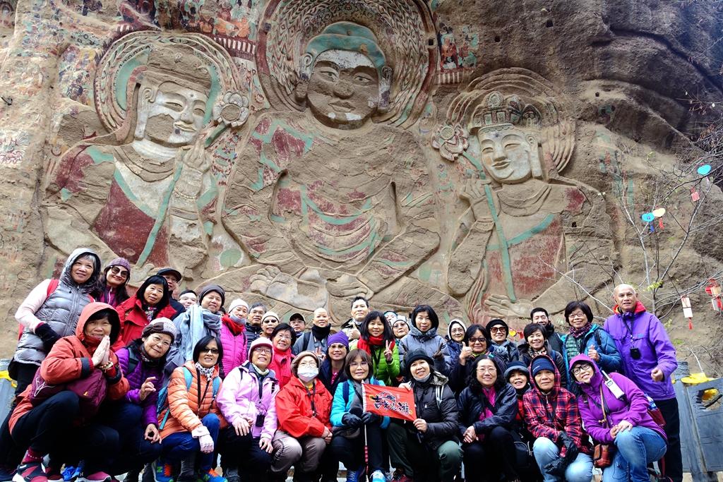 中國佛教石窟藝術 - 麥積山+炳靈寺+敦煌石窟+絲綢之路9日