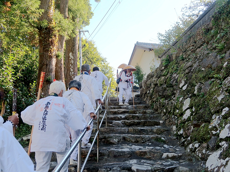 日本四國遍路88所行旅~空海大師同行二人~高野山16日
